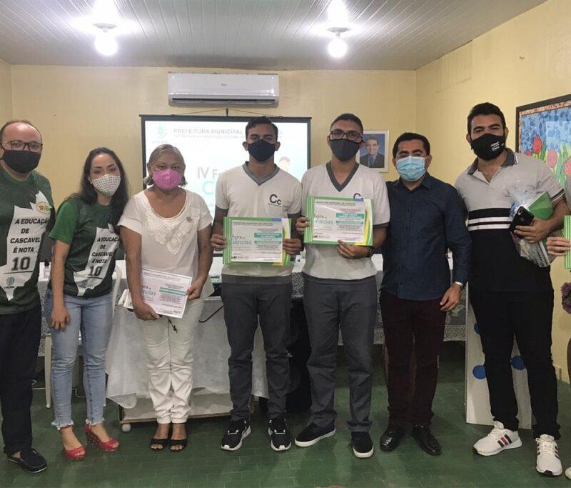 Premiação da IV Feira de Ciências da Universidade Estadual Vale do Acaraú