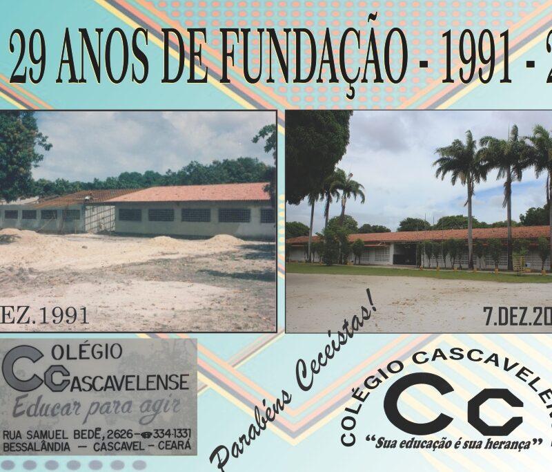 Colégio Cascavelense 29 anos de fundação